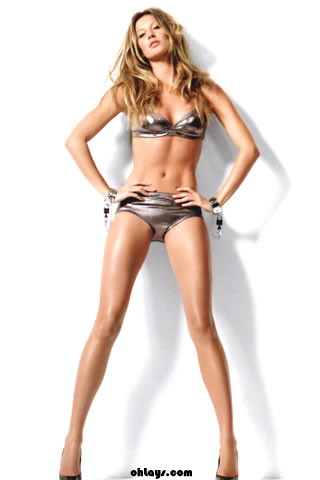 Gisele Bundchen iPhone Wallpaper