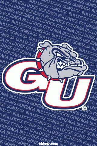 Gonzaga Bulldogs iPhone Wallpaper