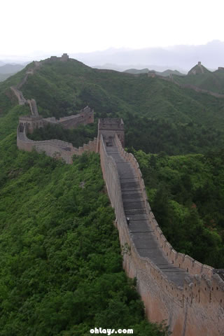 Great Wall of China iPhone Wallpaper