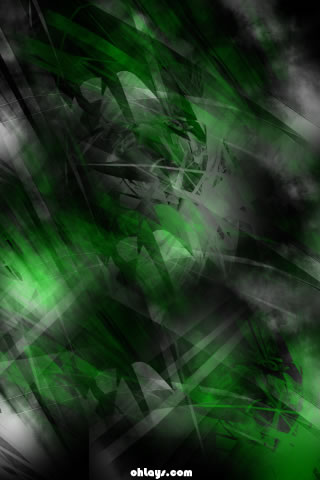 Green Grunge iPhone Wallpaper