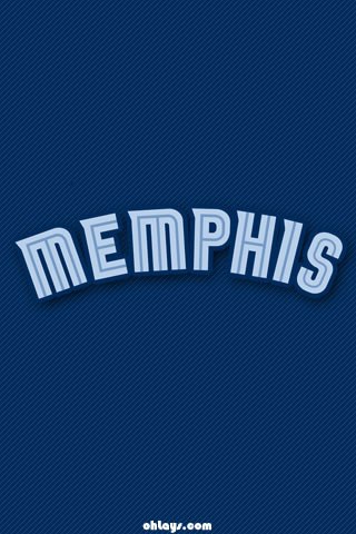 Memphis Grizzlies iPhone Wallpaper