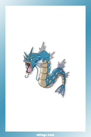 Gyarados iPhone Wallpaper