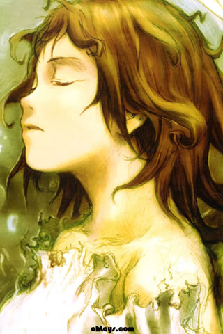 Haibane Renmei iPhone Wallpaper