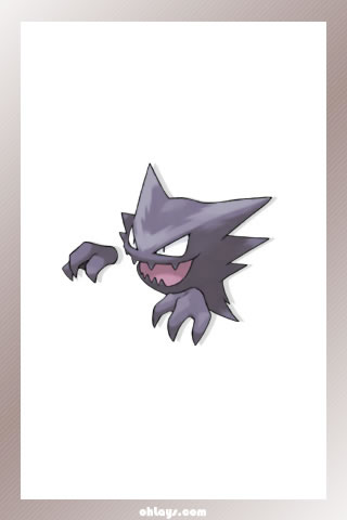 Haunter iPhone Wallpaper