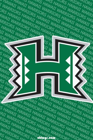 Hawaii Warriors iPhone Wallpaper