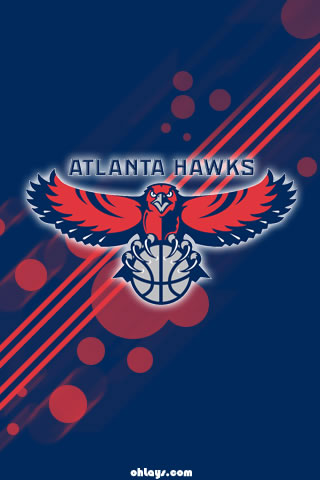 Atlanta Hawks iPhone Wallpaper