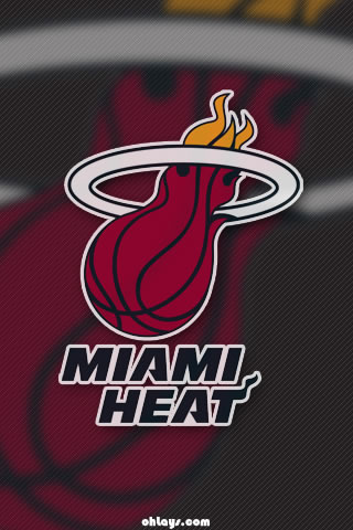 Miami Heat Iphone Wallpaper 1074 Ohlays