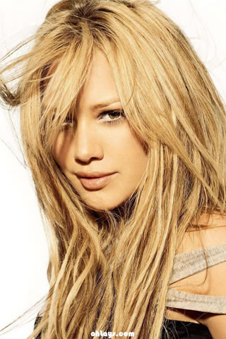 Hilary Duff iPhone Wallpaper