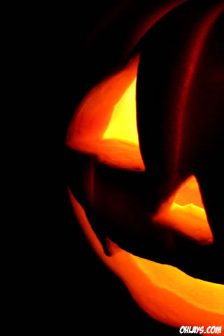 Jack O Lantern iPhone Wallpaper