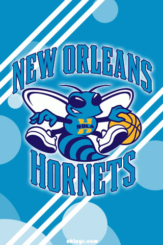 New Orleans Hornets iPhone Wallpaper