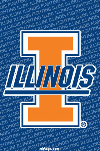 Illinois Fighting Illini iPhone Wallpaper