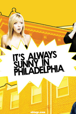 Always Sunny in Philadelphia iPhone Wallpaper
