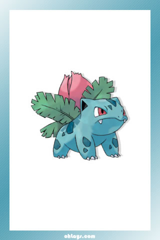 Ivysaur iPhone Wallpaper