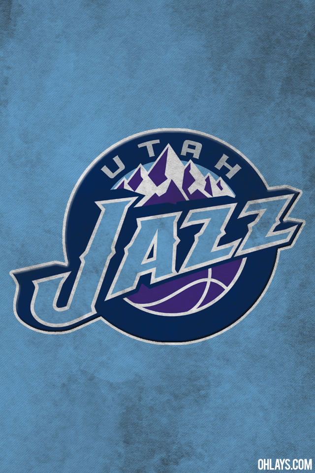 Utah Jazz iPhone Wallpaper