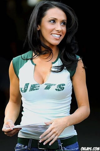 Jenn Sterger iPhone Wallpaper
