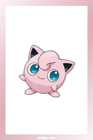 Jigglypuff iPhone Wallpaper