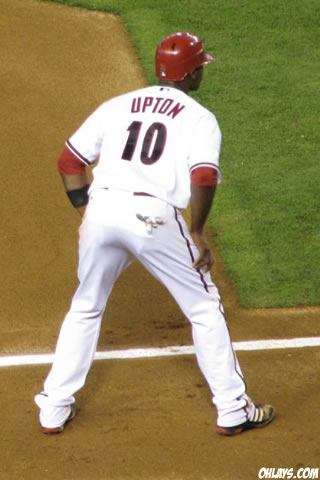 Justin Upton iPhone Wallpaper