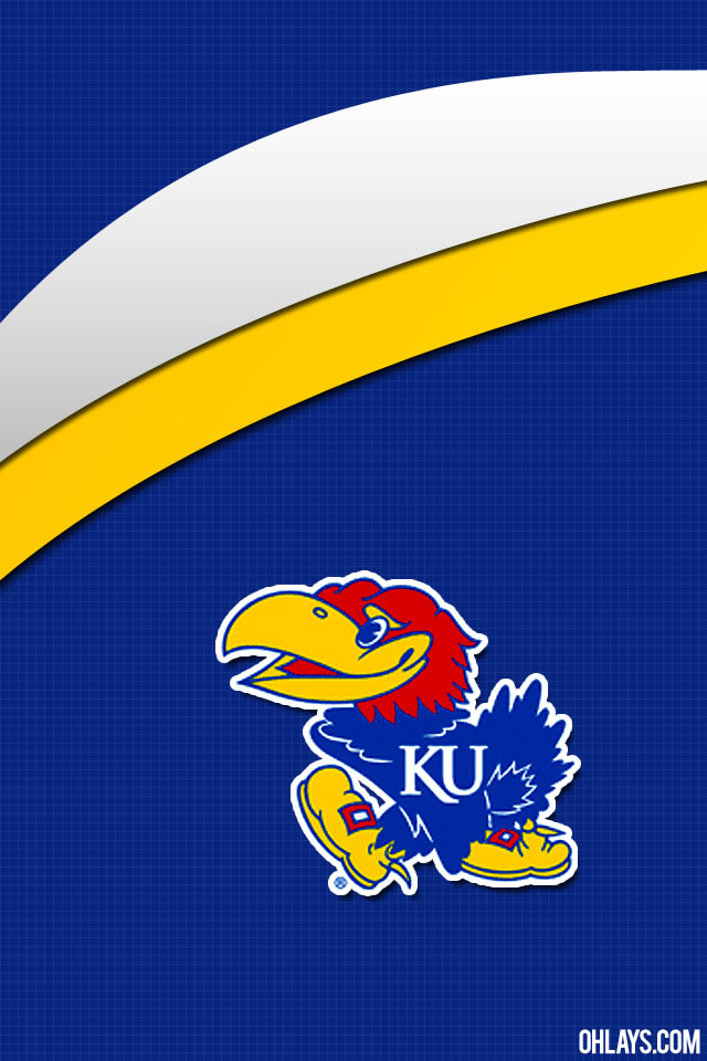 Kansas Jayhawks iPhone Wallpaper