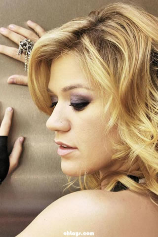 Kelly Clarkson iPhone Wallpaper