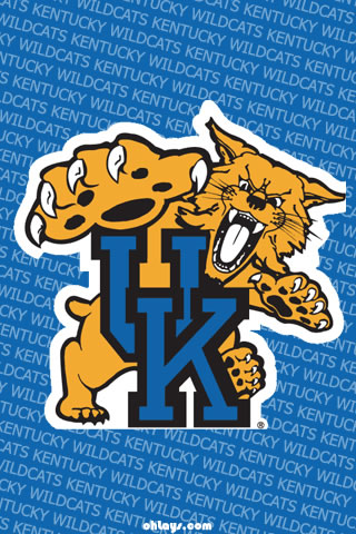 Kentucky Wildcats iPhone Wallpaper