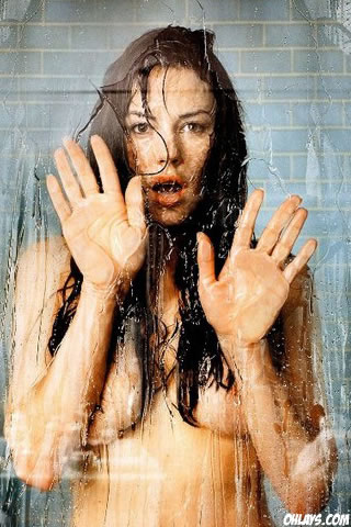 Krista Allen iPhone Wallpaper