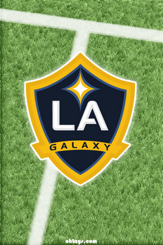 Los Angeles Galaxy iPhone Wallpaper