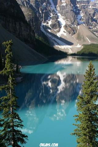 Lake iPhone Wallpaper