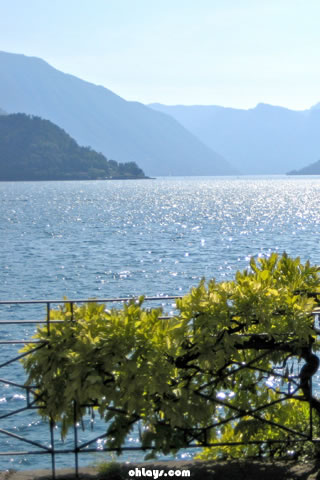 Lake Como iPhone Wallpaper