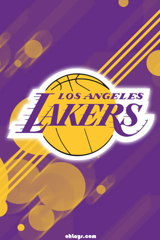 Los Angeles Lakers iPhone Wallpaper