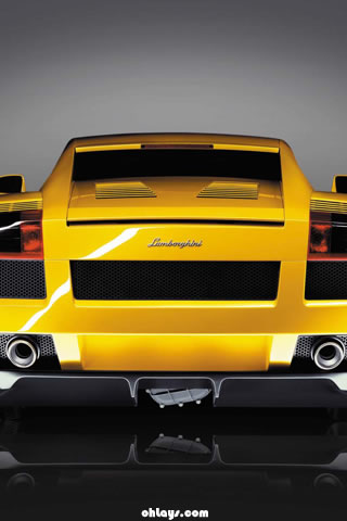 Lambourghini Gallardo iPhone Wallpaper
