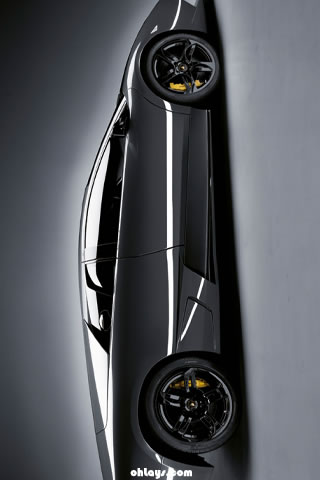 Lambourghini Murcielago iPhone Wallpaper