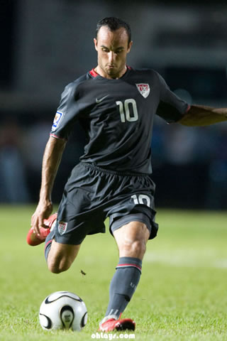 Landon Donovan iPhone Wallpaper