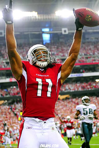 Larry Fitzgerald iPhone Wallpaper