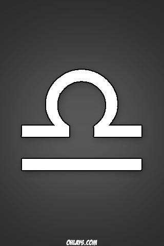 Libra iPhone Wallpaper