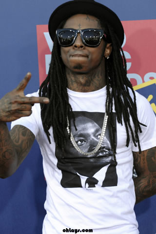 Name: Lil Wayne iPhone Wallpaper Category: Music Date Added: March 1, 2010