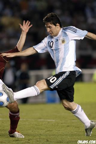 Lionel Messi iPhone Wallpaper