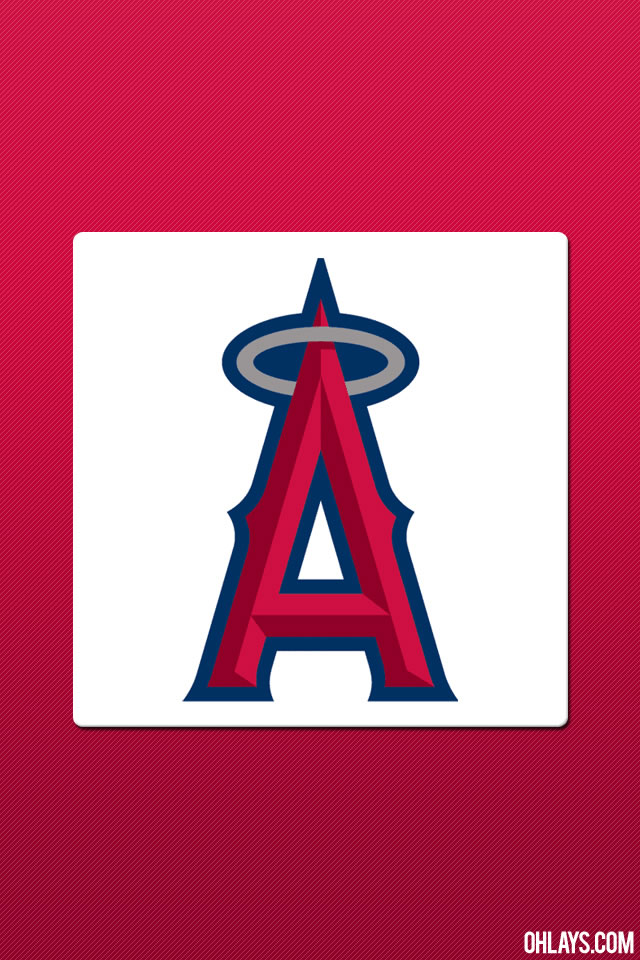 Los Angeles Angels iPhone Wallpaper