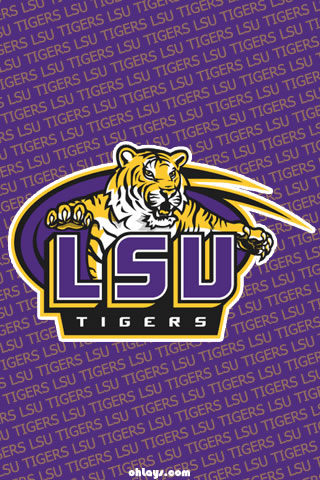 LSU Tigers iPhone Wallpaper