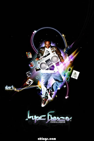 Lupe Fiasco iPhone Wallpaper