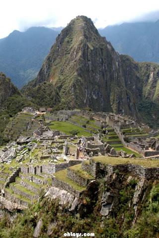 Machu Picchu iPhone Wallpaper