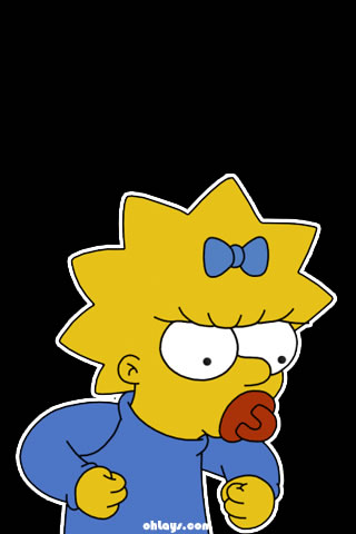 Maggie Simpson iPhone Wallpaper | #957 | ohLays