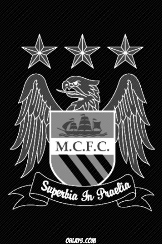 Manchester City iPhone Wallpaper