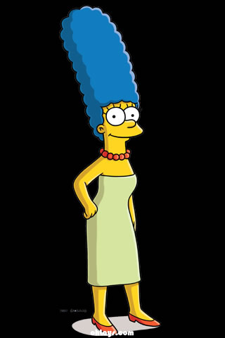 Marge Simpson iPhone Wallpaper