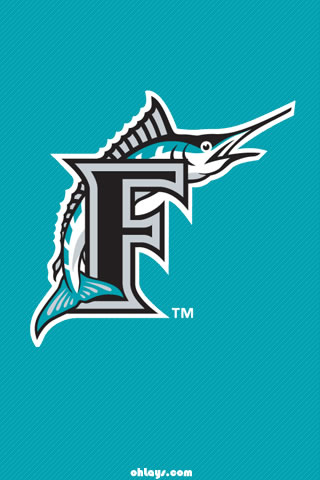 Florida Marlins iPhone Wallpaper