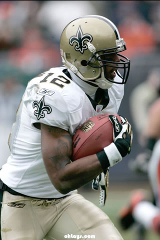 Marques Colston iPhone Wallpaper