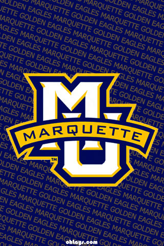 Marquette Golden Eagles iPhone Wallpaper