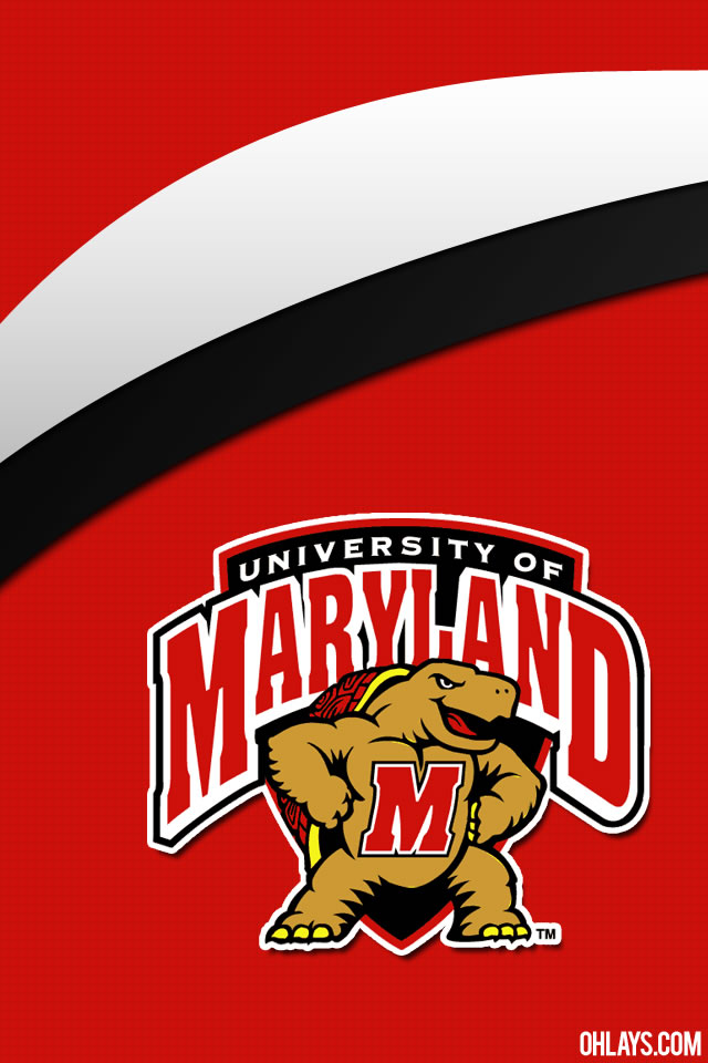 Maryland Terrapins iPhone Wallpaper