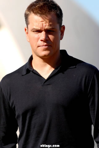 Matt Damon iPhone Wallpaper