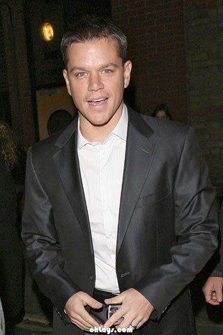 Matt Damon iPhone Wallpaper
