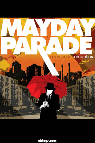 Mayday Parade iPhone Wallpaper